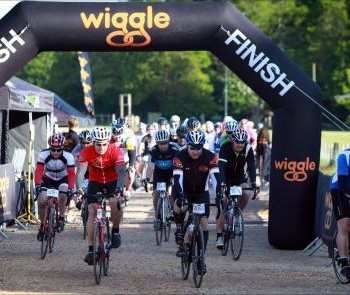 Cycling at Newmarket Wiggle Event