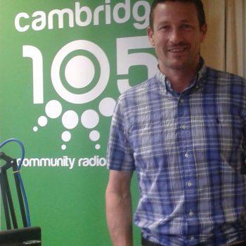 Cambridge 105 FM studio
